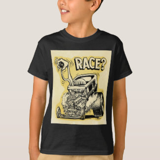 T-shirt le hot rod veulent emballer l'oldschool de bande