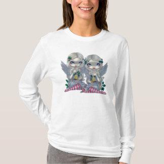 T-shirt Le houx et l'ange de fée de Noël de CHEMISE de