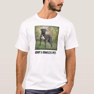 T-shirt Le Hudson - adoptez un animal familier sans abri !