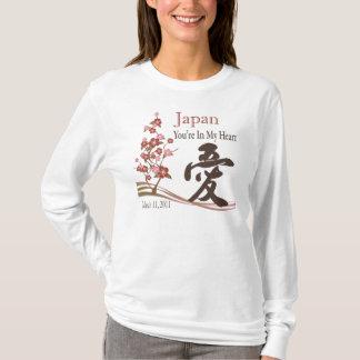 T-shirt Le Japon est dans mon soulagement T de tremblement