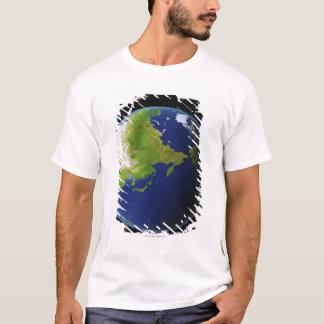 T-shirt Le Japon vu de l'espace