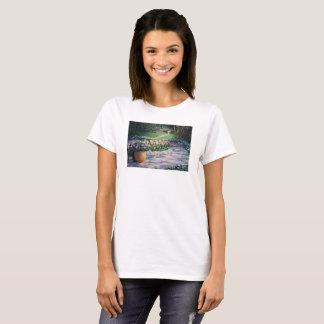 T-shirt Le jardin d'Elaine