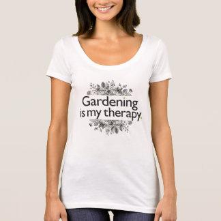 T-shirt Le jardinage est ma thérapie