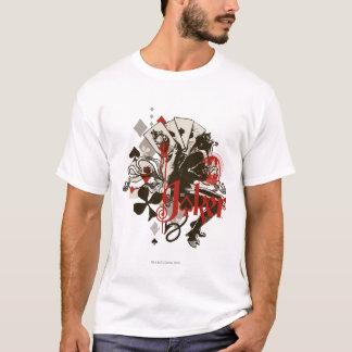 T-shirt Le joker - diable de défenseur de la veuve et de