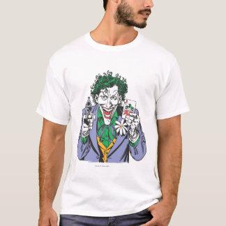 T-shirt Le joker dirige l'arme à feu