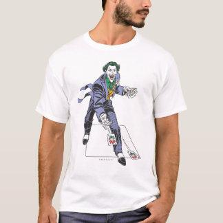 T-shirt Le joker moule des cartes