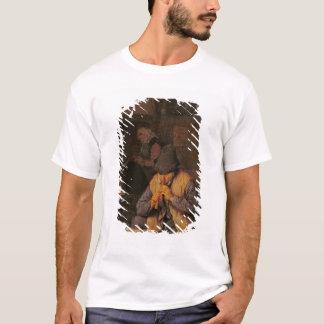 T-shirt Le joueur de cannelure, XVIIème siècle