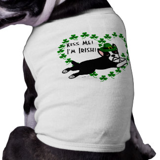 T-shirt Le jour Boston Terrier 2 de St Patrick