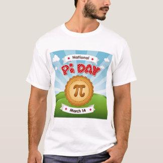T-shirt Le jour de pi, célèbrent des maths, mangent le