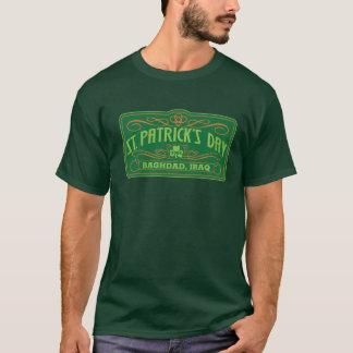 T-shirt Le jour de St Patrick - Bagdad, Irak