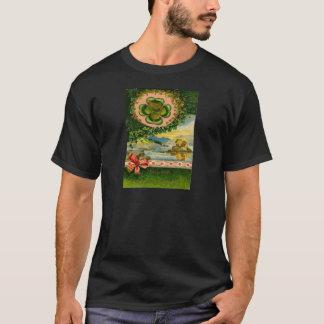 T-shirt Le jour de St Patrick de shamrock de trèfle de