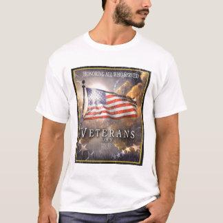 T-shirt Le jour de vétéran - se rappeler nos vétérans
