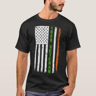 T-shirt Le jour d'Irlandais de l'Irak de St Patrick