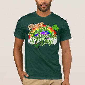 T-shirt Le jour heureux classique de Patrick de saint