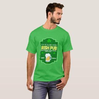 T-shirt Le jour irlandais de Patrick de saint de Pub