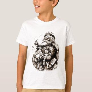 T-shirt Le joyeux vieux père noël vintage