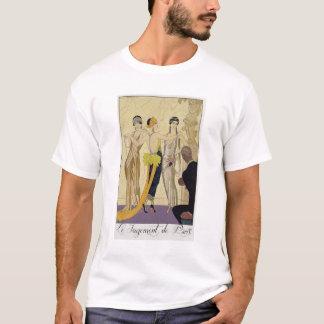 T-shirt Le jugement de Paris, 1920-30 (copie de pochoir)
