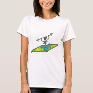 T-shirt Le kayak désosse la longueur d'onde