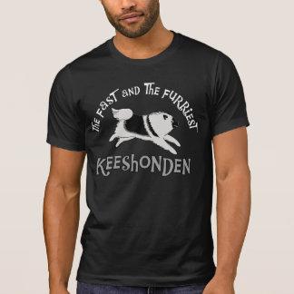 T-shirt Le Keeshonden rapide et le plus velu