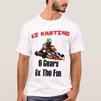 T-shirt Le KZ Karting - 6 vitesses 6x l'amusement
