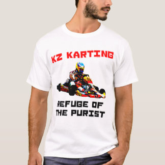 T-shirt Le KZ Karting - refuge du puriste