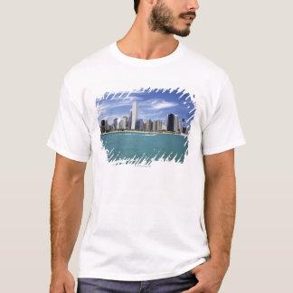 T-shirt Le lac Michigan, horizon, destinations de voyage,