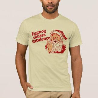 T-shirt Le lait de poule cause la flatulence