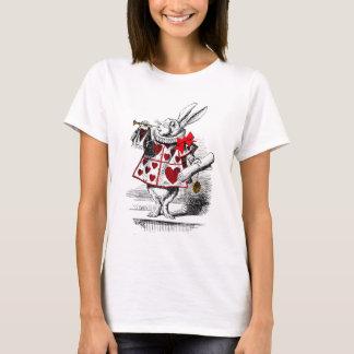 T-shirt Le lapin blanc