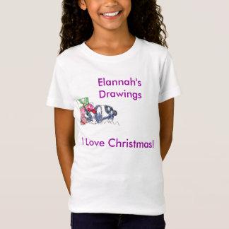 T-Shirt Le lapin de Noël