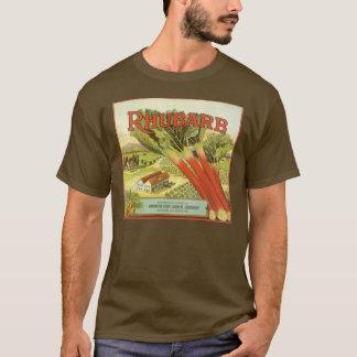 T-shirt Le légume vintage peut marquer l'art, ferme de