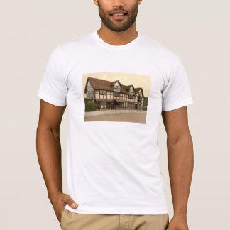 T-shirt Le lieu de naissance de Shakespeare,