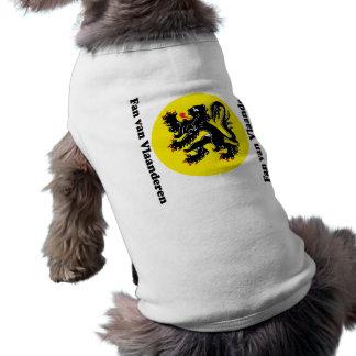 T-shirt Le lion flamand animaux domestiques de Flandre