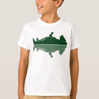 T-shirt Le livre   Mowgli et Baloo de jungle - avec du
