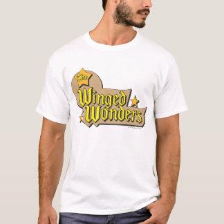 T-shirt Le logo à ailes de merveilles