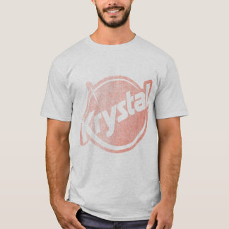 T-shirt Le logo de Krystal s'est fané
