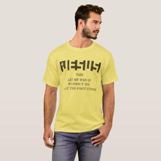T-shirt Le logo d'ÉTOILE CACHÉ par Jésus A MOULÉ la