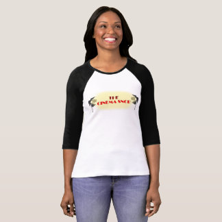 T-shirt Le logo snob de cinéma - 3/4 douille des femmes