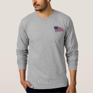 T-shirt Le longsleve des hommes de FishingTheUSA