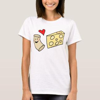 T-shirt Le Mac aime le fromage, macaronis mignons drôles +