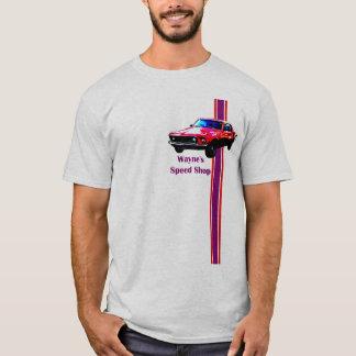 T-shirt le magasin spped par mustang de Wayne