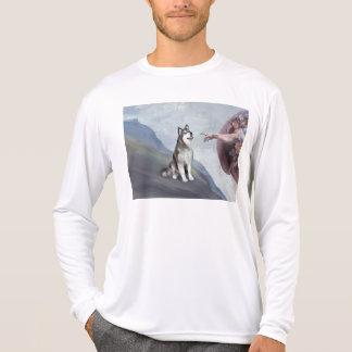 T-shirt Le Malamute d'Alaska de Dieu