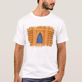 T-shirt Le Mali, Segou. Immeuble de brique traditionnel de