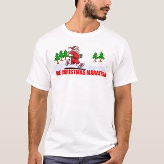 T-shirt Le marathon de Noël
