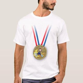 T-shirt Le marathon de Scott