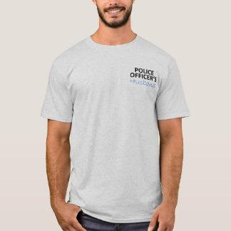 T-shirt Le mari du policier