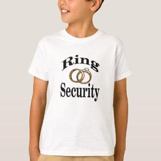T-shirt Le mariage de sécurité d'anneau badine la chemise