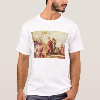 T-shirt Le mariage de Tobias, détail d'une série de PA