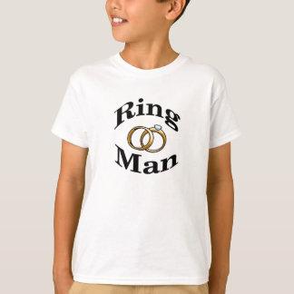 T-shirt Le mariage d'homme d'anneau badine la chemise