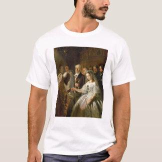 T-shirt Le mariage disposé, 1862