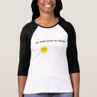 T-shirt le meh brillant